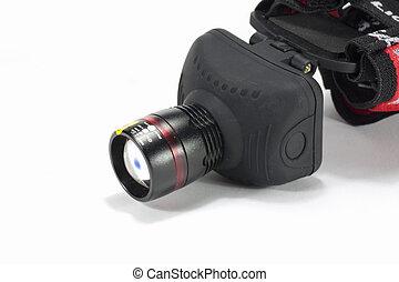 headlamp - black headlamp to illuminate handsfree