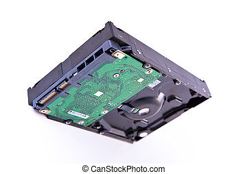 serial ATA hard drive isolated - isolated serial ATA hard...
