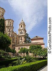 Malaga Cathedral, Andalucia, Spain