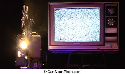 Analog Screens CU1 - This is a retro TVs and a film...