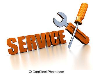 修理, 服務