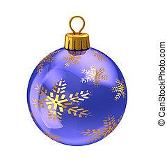 christmas ball - 3d illustration of christmas ball,with...