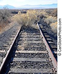 Old Unused Railroad Line