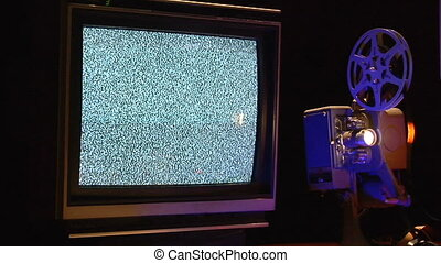 Analog Screens CU2 - This is a retro TVs and a film...