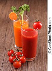 vegetables cocktail/ drinks