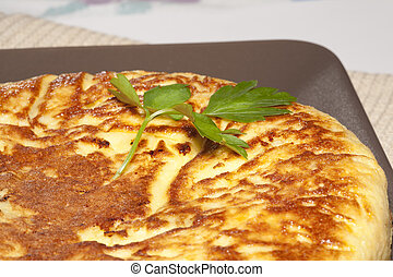 And onion omelette