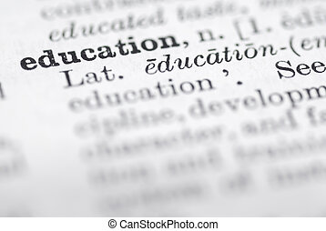 Education Definition in English Dictionary.