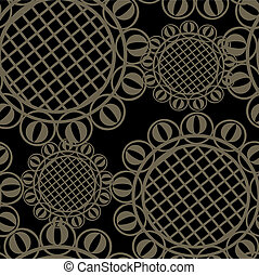 Vector seamless ornament texture