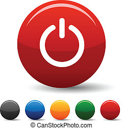 Switch icons. - Switch icon set. Vector illustration. .