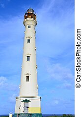 California Lighthouse constructed near the Aruba's...