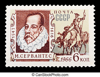 Postage Stamp - USSR - CIRCA 1966: A stamp printed in USSR...