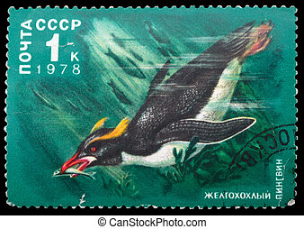 Postage Stamp - USSR - CIRCA 1978: A Stamp printed in USSR...