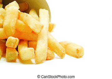 Big Thick Cut French Fries - Big Thick Cut potato French...