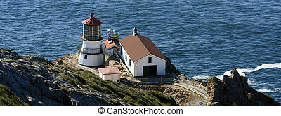 Point Reyes Lighthouse Panorama