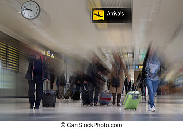 Airline Passengers - Airline Passenger at the Airport