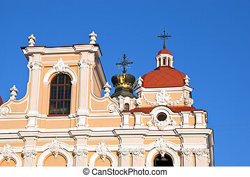 Saint Casimir Church in Vilnius, Lithuania - Saint Casimir...