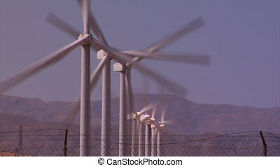 Turbine - These majestic giants gently gyrate in the desert...