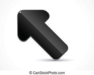 abstract shiny cursor icon