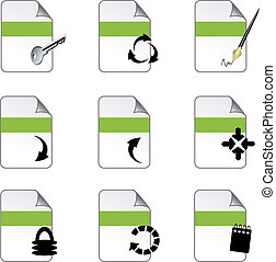 Vector file icons
