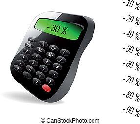 Vector business calculator