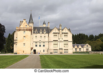 Brodie Castle - Brodie castle in Scotland