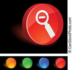 Remove Icon. - Remove 3d icon. Vector illustration.