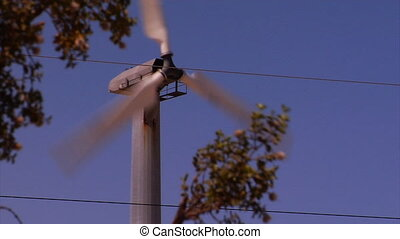 Wind Turbine wFG - These majestic giants gently gyrate in...