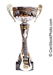 Trophy with mini electric guitar