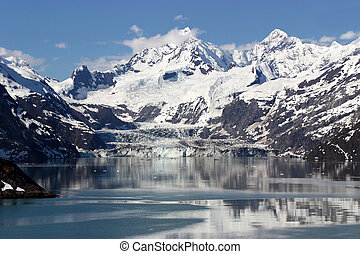 Glacier Bay, Alaska - Scenic view of Glacier Bay in Alaska