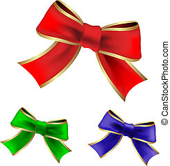 Vector color ribbons