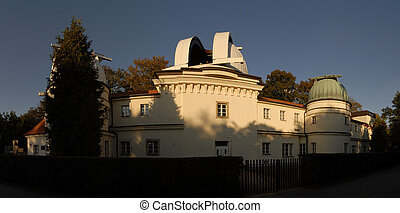 Petrinska Hvezdarna - Panorama of building of observatory in...