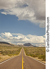 Arizonas Bagdad Road SR 96 - Arizona State Route 96 known as...