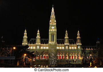 Vienna's City Hall, Austria
