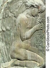 angelic figure