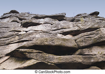 Rocks in Harz Mountains, Germany