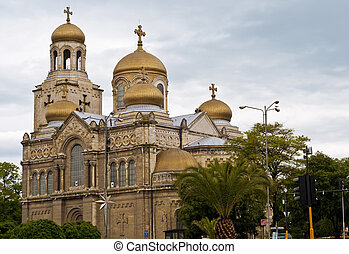 Varna Cathedral,Bulgaria - The Cathedral of the Assumption...