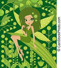 Wood fairy.