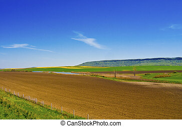 Country side landscape - Country side on a lovely day