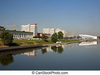 Minsk capital of Belarus Belorussia