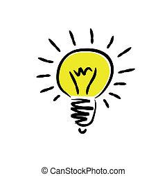 光, 燈泡