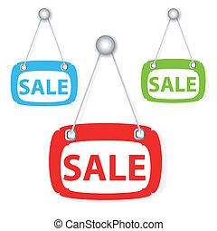 Sale signboard