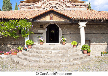 Entry to old church - Ohrid - Entry to old beauty church in...