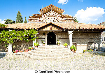 Old temple in Ohrid - Old beauty temple in UNESCO Ohrid town...