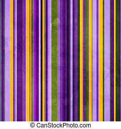 Background with colorful green, yellow and violet stripes