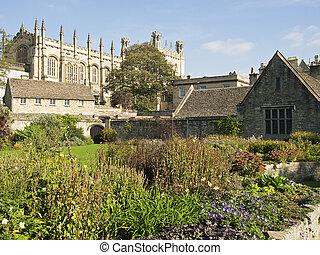Christ Church War Memorial Garden - A view of the flower...