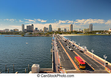 St. Petersburg, Florida - Skyline of St. Petersburg, Florida...