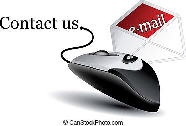 Vector contact icon