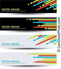 Vector set of headers