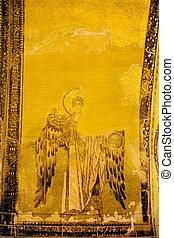 Guardian Angel Byzantine Art