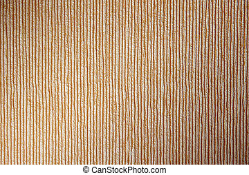 Striped paper wallpaper in orange and brown colors Vertical...